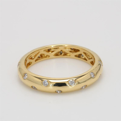 Ladies' Diamond Fashion Ring 0.32tw  18K Yellow Gold