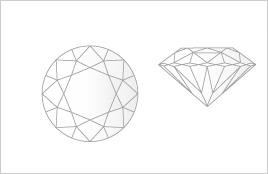 - Carat  Cut Diamond