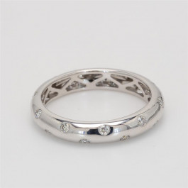 Ladies' Diamond Fashion Ring 0.32tw  18K White Gold