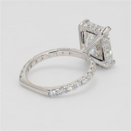 Ladies Custom Diamond Fashion Micro Prong Engagement Ring