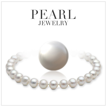 a single pearl surround by pearl necklace