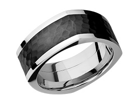 men alternative metal wedding ring icon