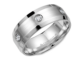 men diamond wedding ring icon